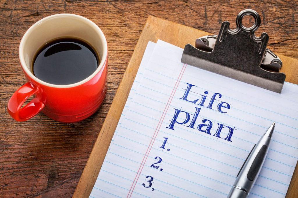 人生計画が立てられる